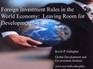 The False Promise of Foreign Direct Investment & Sustainable