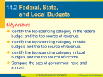 14.2 Federal, State, and Local Budgets
