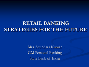 retail banking a strategy for the future
