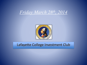 FridayMarch28thMeeting - Sites at Lafayette