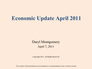Economic Update April 2011