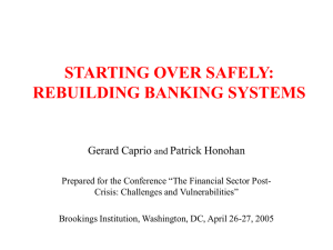 starting over safely: rebuilding banking systems