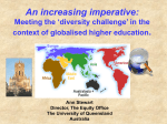 An increasing imperative: Meeting the `diversity challenge`