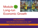 LR economic growth Macro_Module_37 LR economic growth