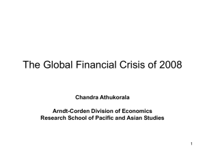 The Global Financial Crisis of 2008 .(English)