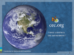 Commission for Environmental Cooperation of North America
