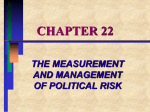 the measurement and management of political