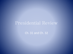 Presidential Review