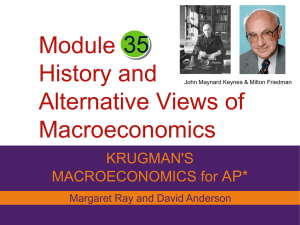 Module History and Alternative Views of