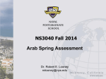 Arab-Spring Assessment