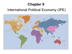 Chapter 9: Int`l Political Economy