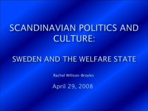 Scandinavian politics and culture