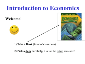 Economics - Redwood High School