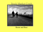 Stock Market Crash - Fern Creek US History