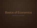 Basics of Economics - Solon City Schools