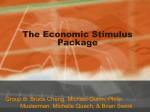 The Economic Stimulus Package