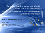 CSR in the European Union