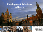 Employment Relations in Russia