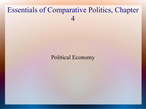 File - Introduction to Comparative Political Economy and