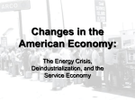 Changes in the American Economy: The Energy