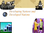 Developing Nations - Schaumburg High School