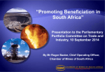 manufacturing beneficiation