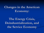 Changes in the American Economy: The Energy Crisis