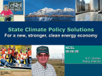 Effectiveness - National Caucus of Environmental Legislators (NCEL)