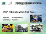 iRAP: Eliminating High Risk Roads - Asia