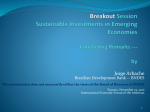 Sustainable Investments in Emerging Economies
