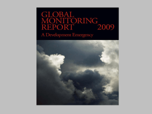 Global Monitoring Report A Development Emergency