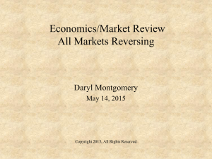 May 2015- Review of Economy and Markets
