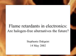 Flame retardants in electronics: Are halogen
