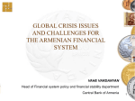 Global Crisis Issues and Challenges for the Armenian