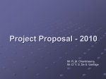 Project Proposal - 2010