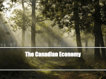 The Canadian Economy