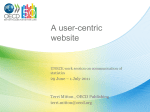 OECD`s approach to building a user-centric website