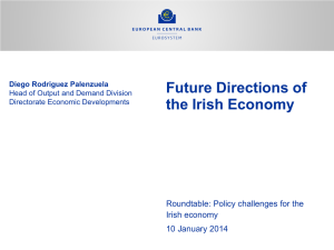 Future Directions of the Irish Economy Roundtable: Policy challenges for the Irish economy