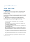 Appendix A: Terms of reference Australia's Future Tax System Objectives and scope