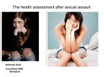 The health assessment after sexual assault - HI-Net