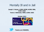 Mentally Ill and In Jail (1 PowerPoint)