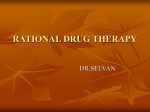 RATIONAL DRUG THERAPY