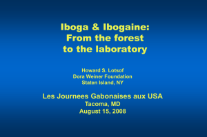 Iboga and Ibogaine - From Forest to Lab