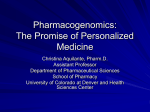 Pharmacogenetics: Clinical Implications