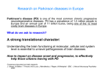 The example of Parkinson disease