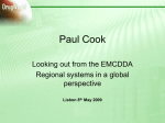 Paul Cook - European Monitoring Centre for Drugs and Drug