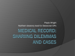 Medical record: shariing dilemmas and cases
