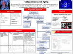 Osteoporosis and Aging An estimated 25 million Americans