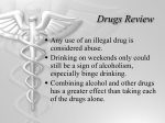 Drugs Review - Schoolwires