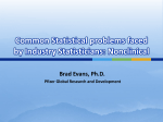 Common problems faced by Statisticians in the